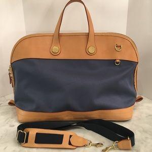 Dooney & Bourke Cabriolet weekender bag with strap